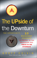 The Upside Of The Downturn: The Opportunity