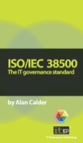 ISO/IEC38500 is the international standard for the corporate governance of information and communication technology
