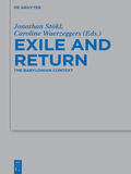 This collection of essays explores new ways of understanding the Babylonian Exile and the return to Yehud – a formative period in ancient Judaism