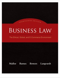 Student study guide to accompany business law: the ethical, global.