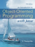 An Introduction to Object-Oriented Programming with Java 007741568XR60