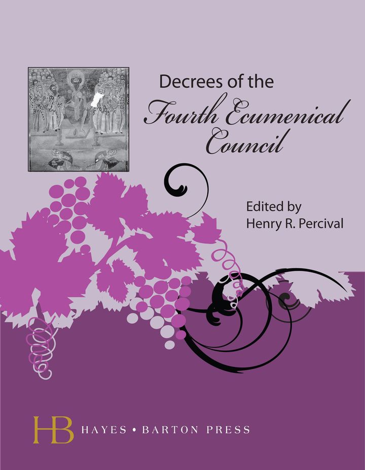 Decrees of the Fourth Ecumenical Council