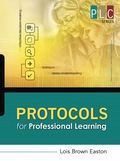 Protocols for Professional Learning (The Professional Learning Community Series) 109037E4