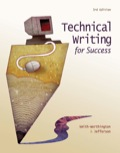 Technical Writing for Success 111178678XR180