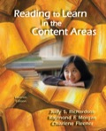 Reading to Learn in the Content Areas, 7e 1111804826R180