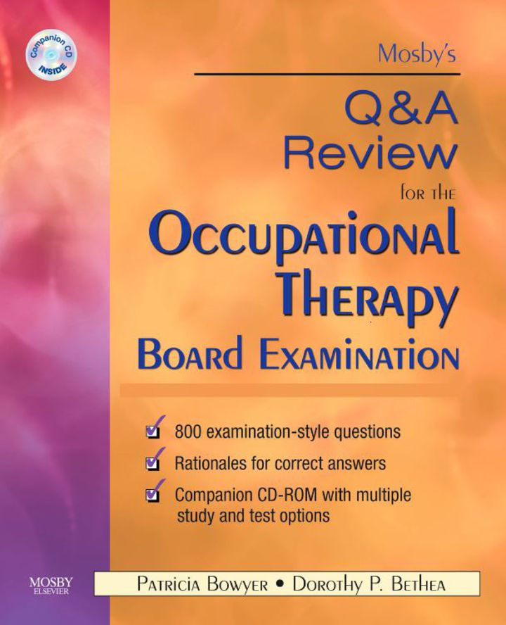 Mosby's Q&A Review for the Occupational Therapy Board Examination