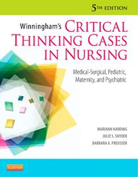 winningham39s critical thinking cases in nursing 5th edition answers