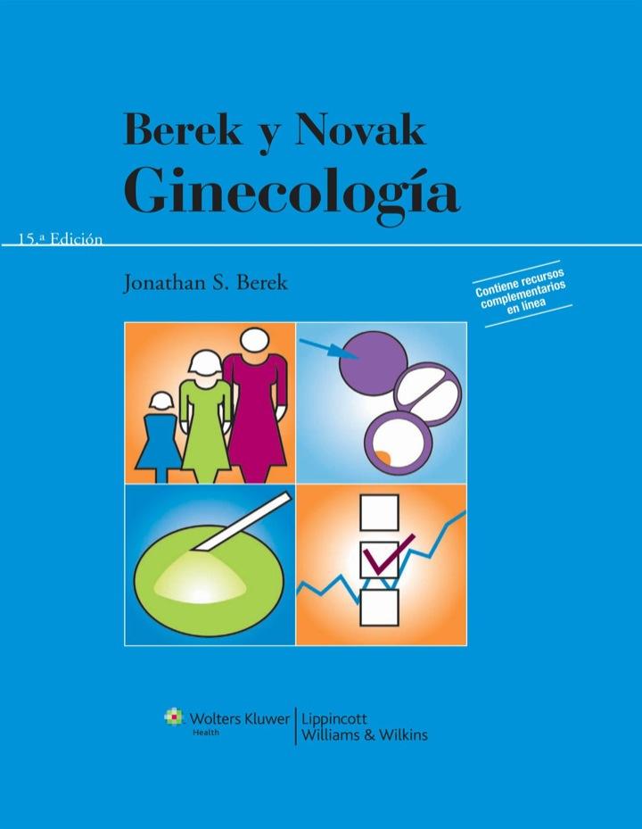 Berek y Novak. Ginecología