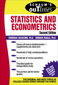 Schaum's Outline of Statistics and Econometrics              by             Dominick Salvatore