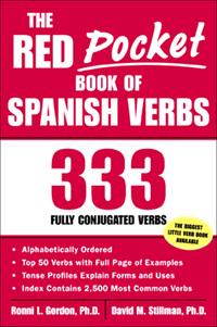 The Red Pocket Book of Spanish Verbs              by             Ronni L. Gordon; David M. Stillman