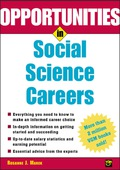 Opportunities in Social Science Careers