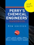PERRYS CHEMICAL ENGINEERS HANDBOOK 8/E SECTION 5 HEAT & MASS TRANSFER