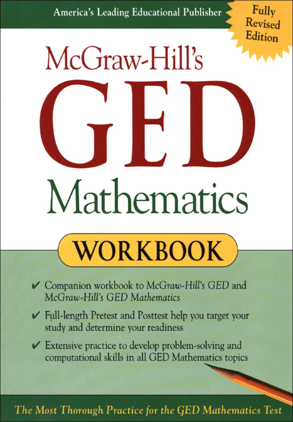 McGraw-Hill's GED Mathematics Workbook (eBook)