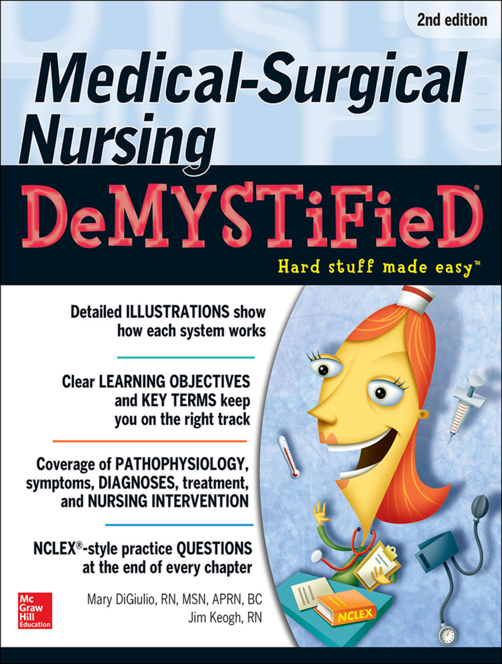 Medical-Surgical Nursing Demystified Second Edition (eBook) (9780071773423)  photo