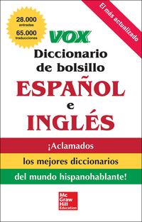 VOX Diccionario de bolsillo español y inglés              by             Vox