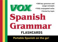 VOX Spanish Grammar Flashcards              by             Vox