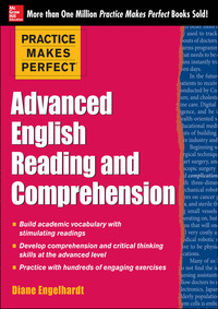 Practice Makes Perfect Advanced ESL Reading and Comprehension (EBOOK)              by             Diane Engelhardt