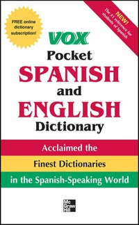 Vox Pocket Spanish-English Dictionary              by             Vox