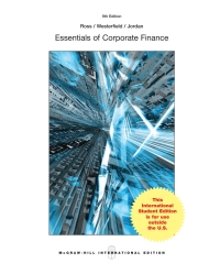 essentials of corporate finance 9th edition