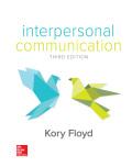 EBK INTERPERSONAL COMMUNICATION