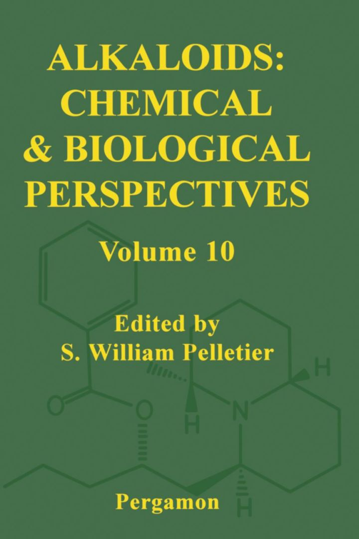 Alkaloids: Chemical and Biological Perspectives, Volume 10: Chemical and Biological Perspectives, Volume 10