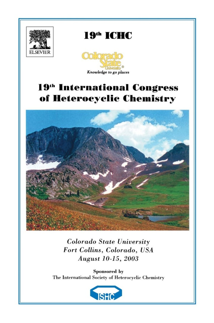 19th International Congress on Heterocyclic Chemistry: Book of Abstracts