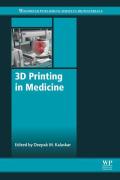 3D Printing in Medicine (9780081007266) photo