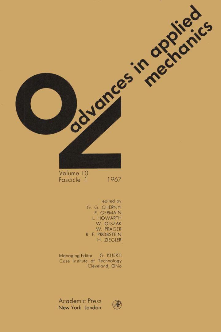 ADVANCES IN APPLIED MECHANICS VOLUME 10