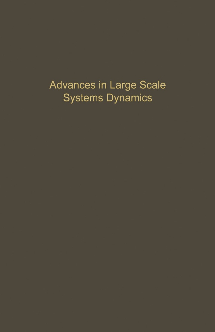 CONTROL AND DYNAMIC SYSTEMS VOL 36