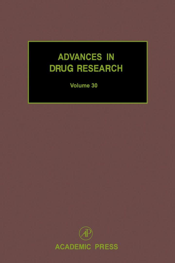 Advances in Drug Research, Volume 30