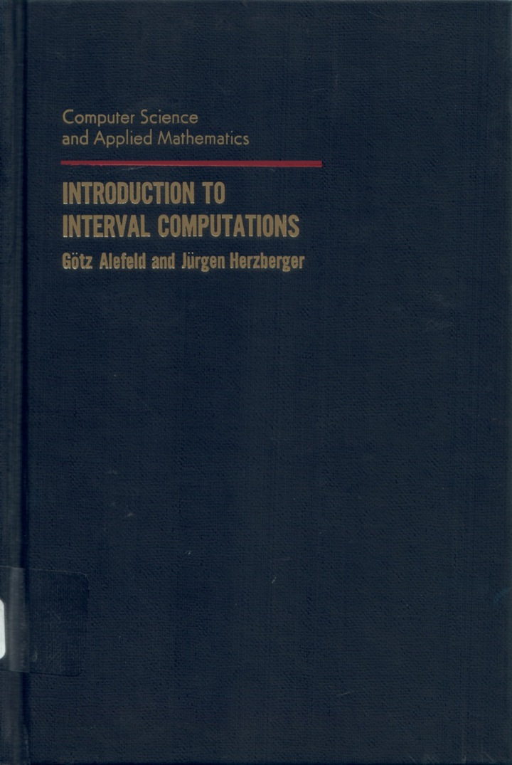 Introduction to Interval Computation