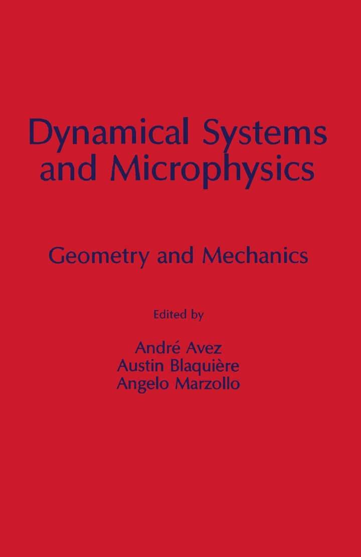 Dynamical Systems and Microphysics: Geometry and Mechanics
