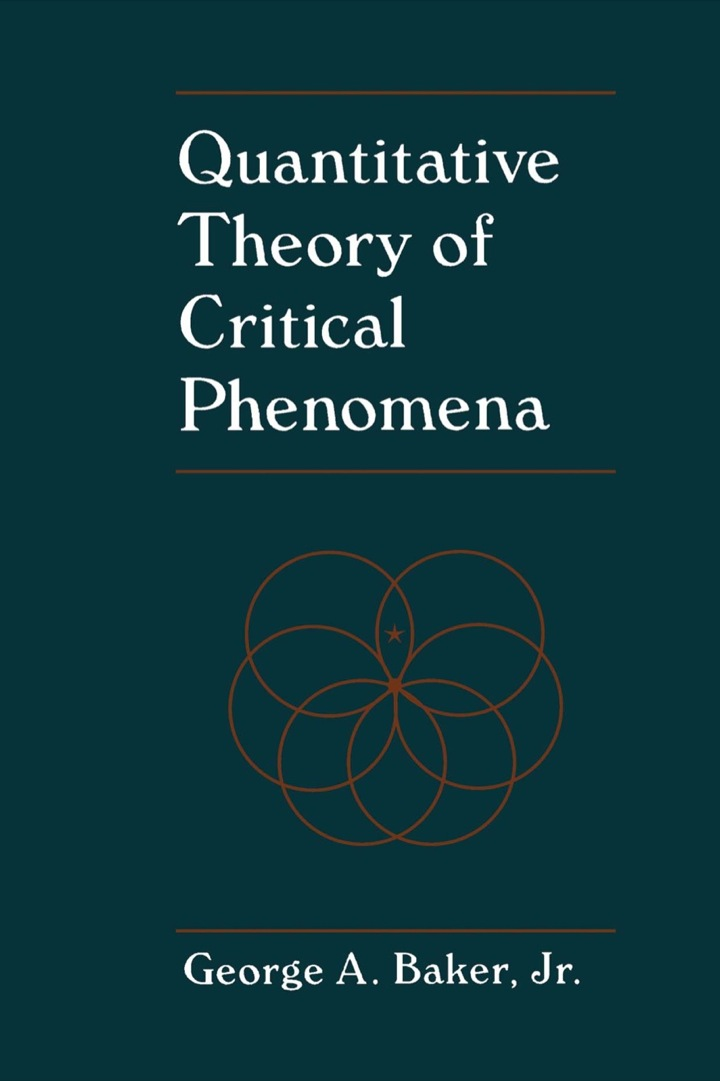 Quantitative Theory of Critical Phenomena