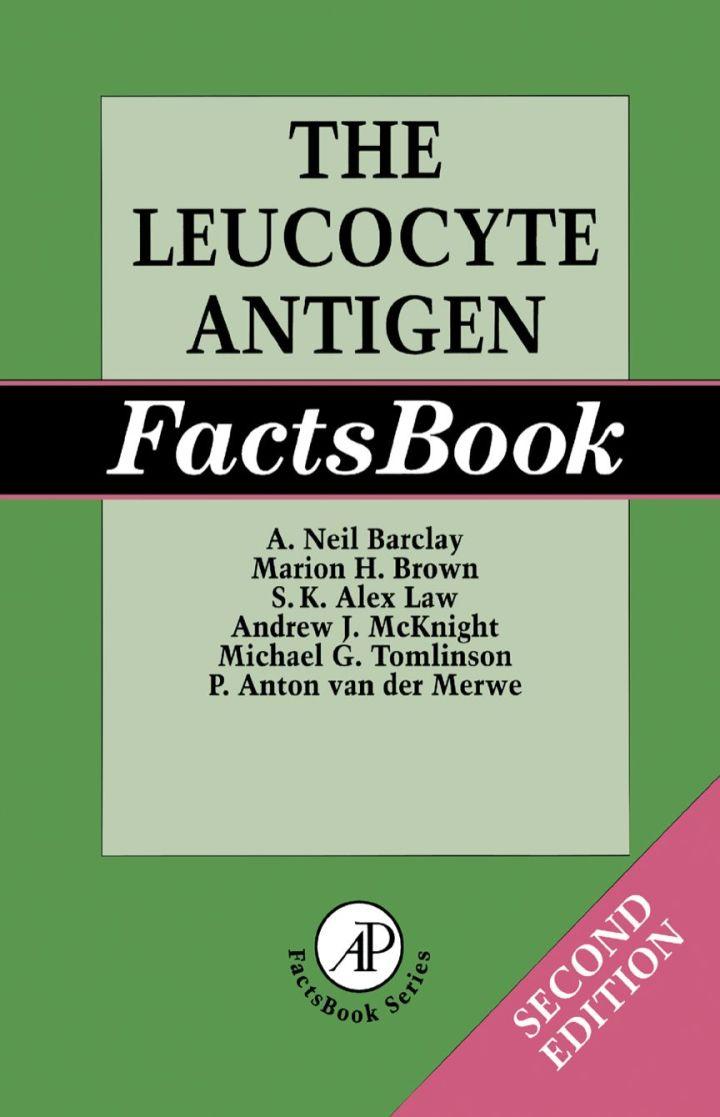The Leucocyte Antigen Factsbook