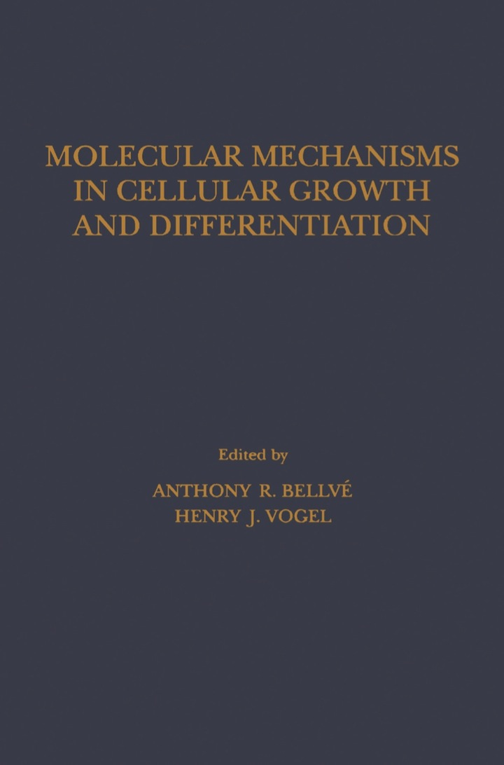 Molecular Mechanisms In Cellular Growth and Differentiation