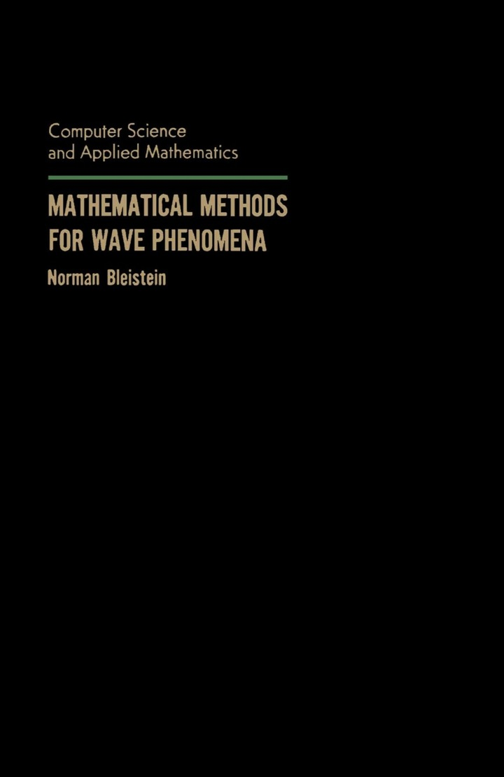 Mathematical Methods for Wave Phenomena