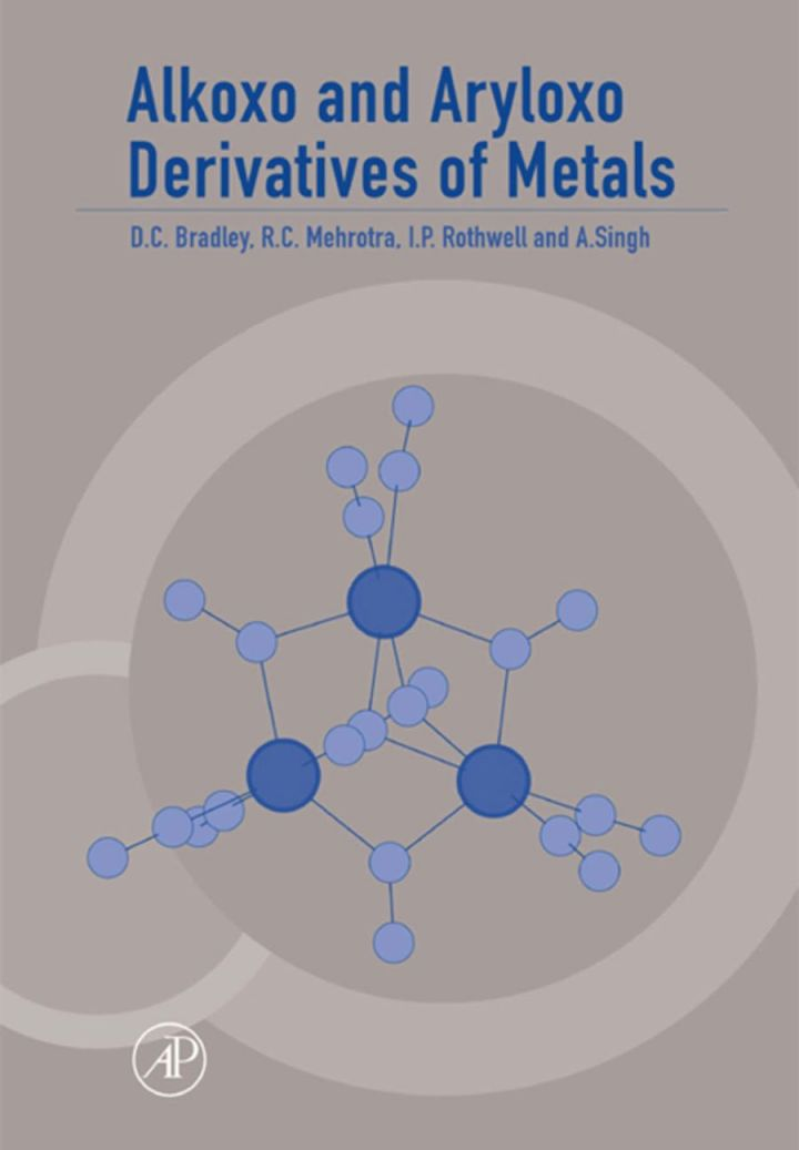 Alkoxo and Aryloxo Derivatives of Metals