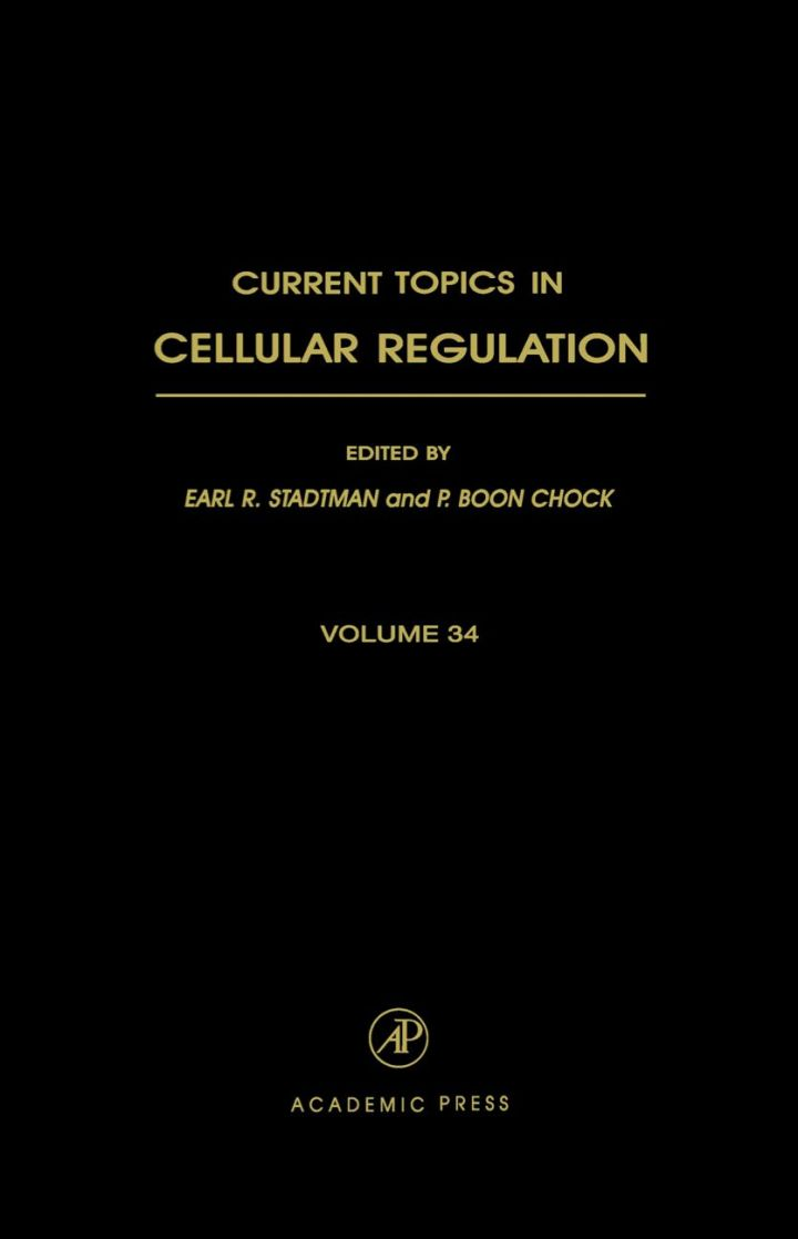 Current Topics in Cellular Regulation