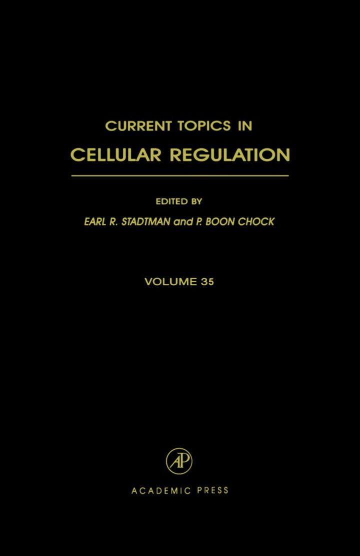 Current Topics in Cellular Regulation