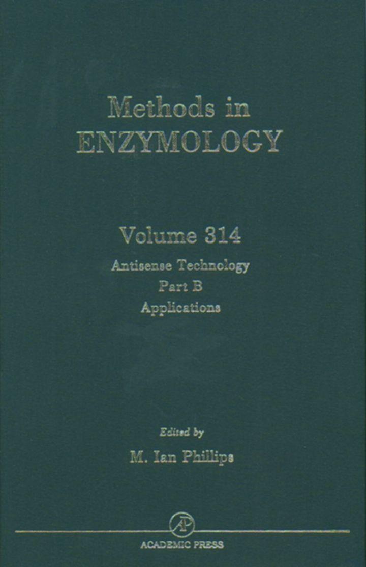Antisense Technology, Part B: Applications: Applications