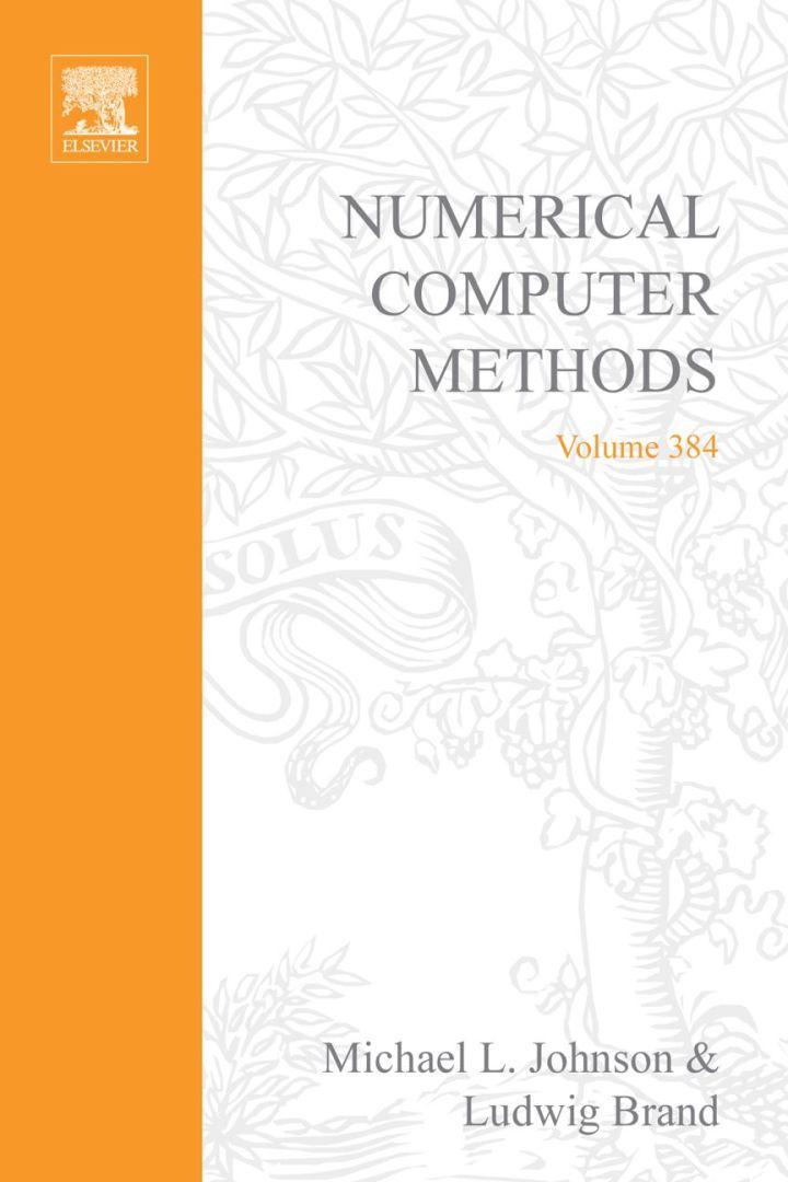 Numerical Computer Methods, Part E