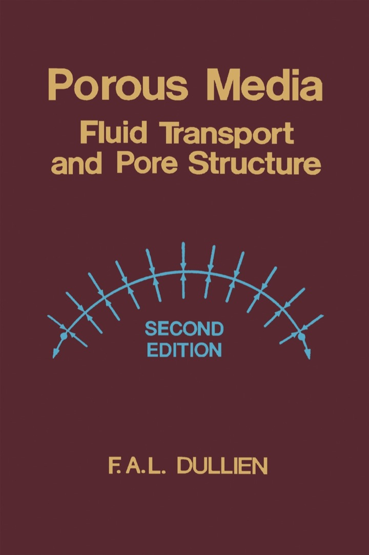 Porous Media: Fluid Transport and Pore Structure
