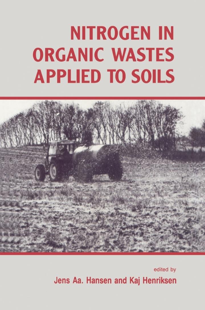 Nitrogen in Organic Wastes: Applied to Soils