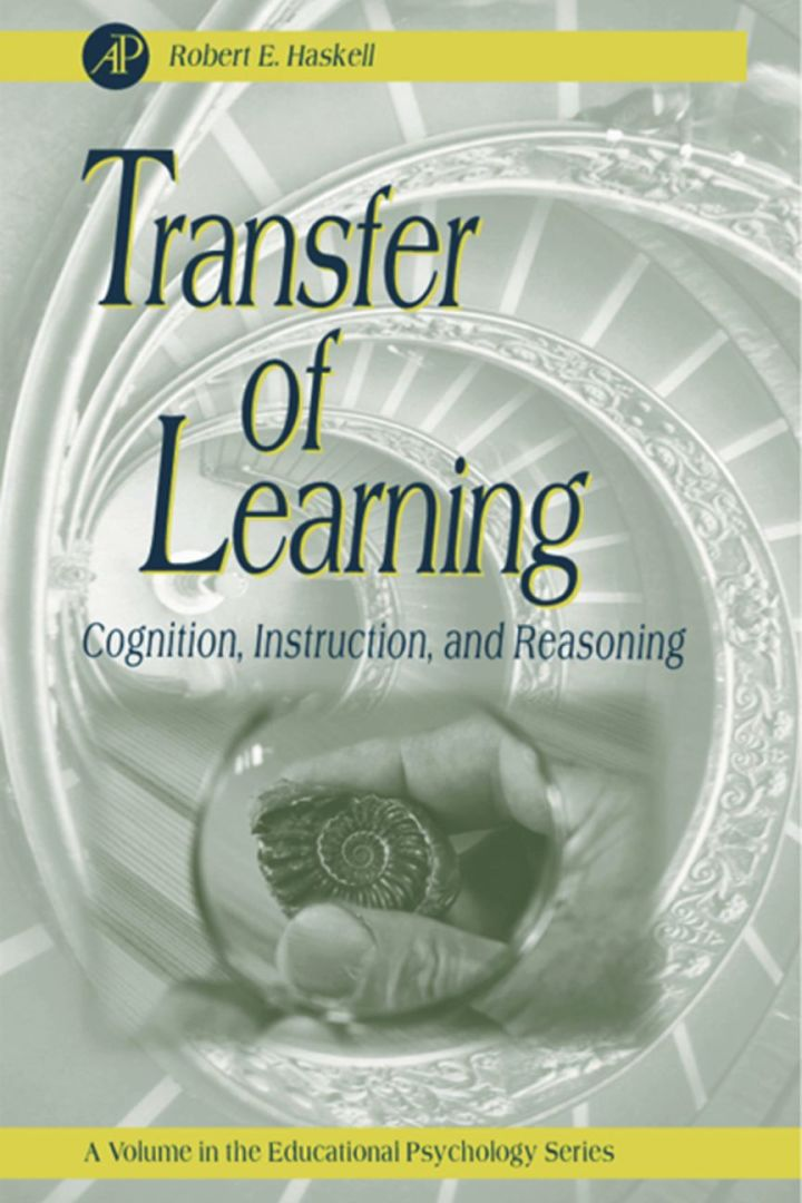 Transfer of Learning: Cognition and  Instruction
