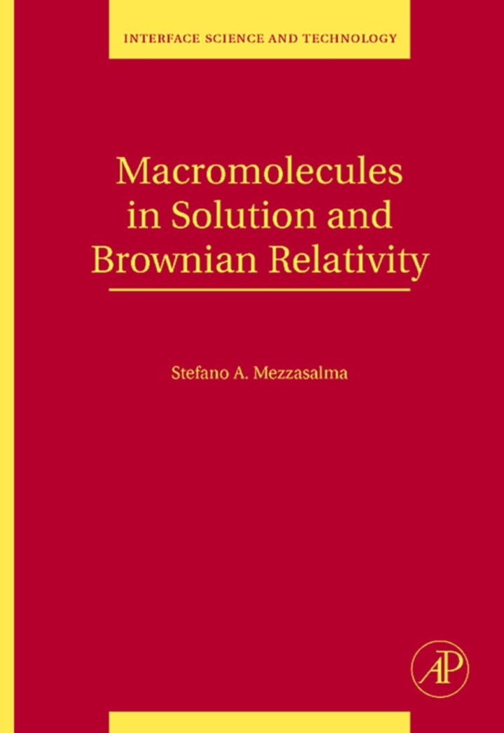 Macromolecules in Solution and Brownian Relativity