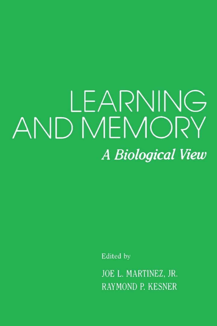 Learning and Memory: A Biological View