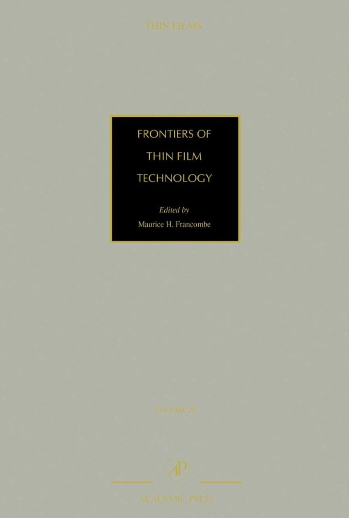 Frontiers of Thin Film Technology