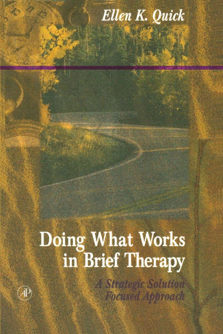 Doing What Works in Brief Therapy: A Strategic Solution Focused Approach