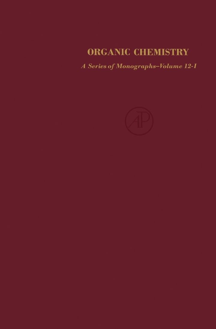 Organic Functional Group Preparations: Volume 1