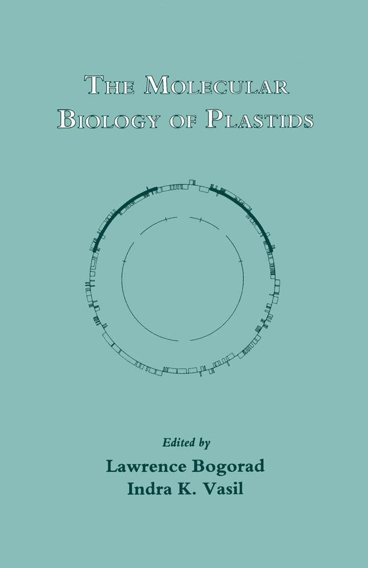 The Molecular Biology of Plastids: Cell Culture and Somatic Cell Genetics of Plants